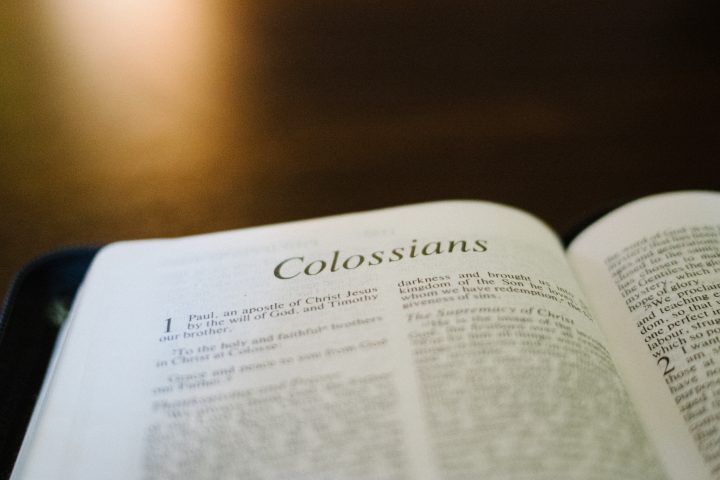 Book of the Bible Colossians